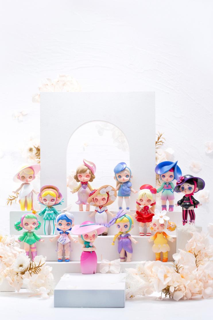 玩具城市劳拉第二弹—花卉时装系列盲盒  背后隐藏工匠精神