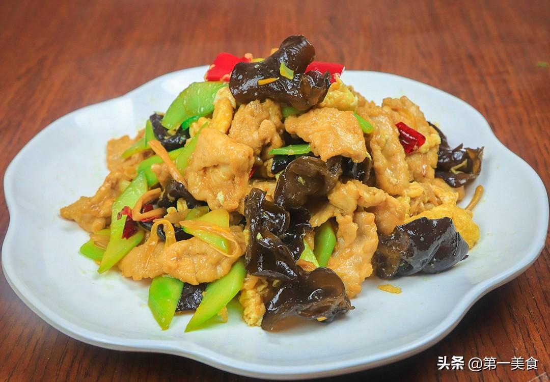 【木须肉】做法步骤图 肉嫩菜脆 经典家常菜