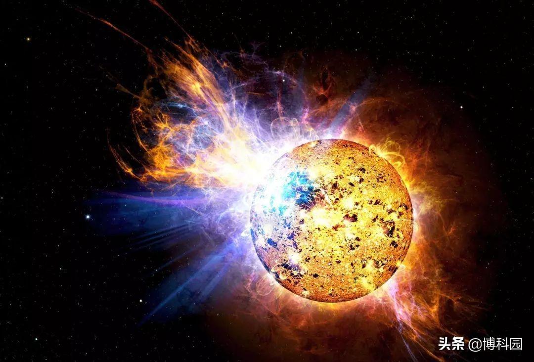 木星大小的恒星发生爆炸,威力是太阳上的10倍!