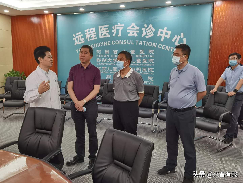 李思进带队赴河南省考察区域医疗中心建设