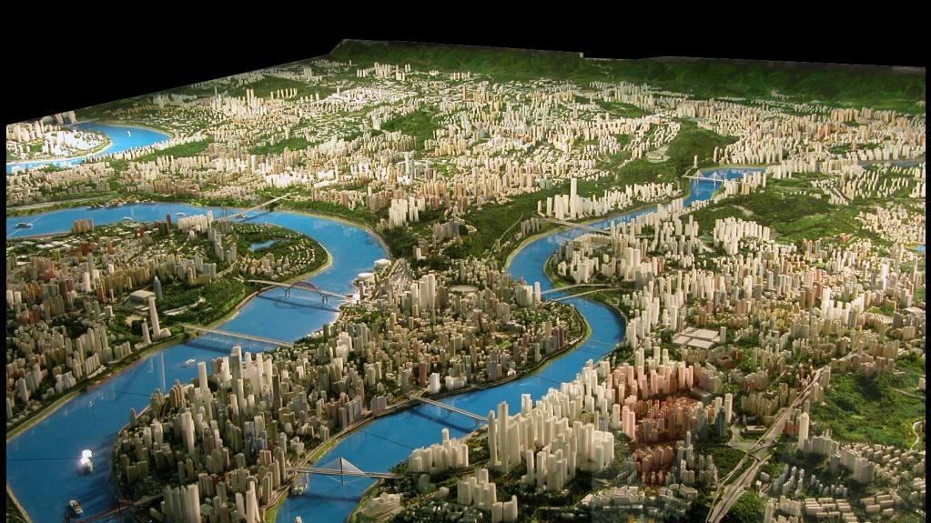 电子沙盘在城市规划中有何作用?