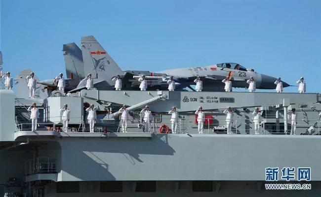国产航母山东舰近况披露:今年第三次出海,战机又现新编号
