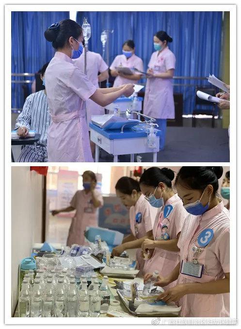 贝博app体育贝博体彩app院举办2020年护理实习生护理技能操作比赛