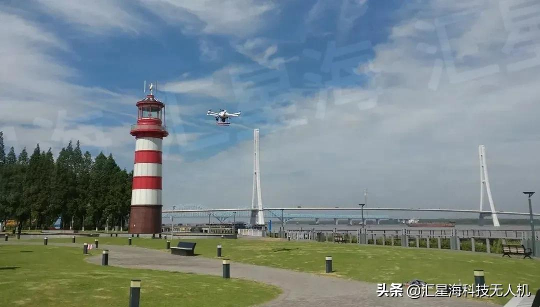 汇星海无人机应用 提升作业效率感受中国发展