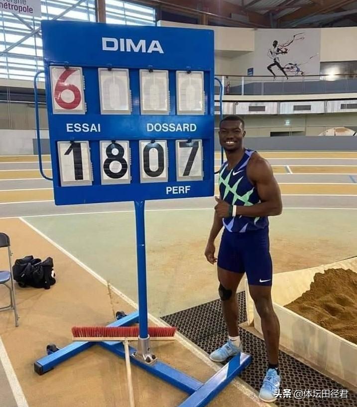 17米20,27岁田径世锦赛季军战胜奥运冠军夺冠 年初打破世界纪录