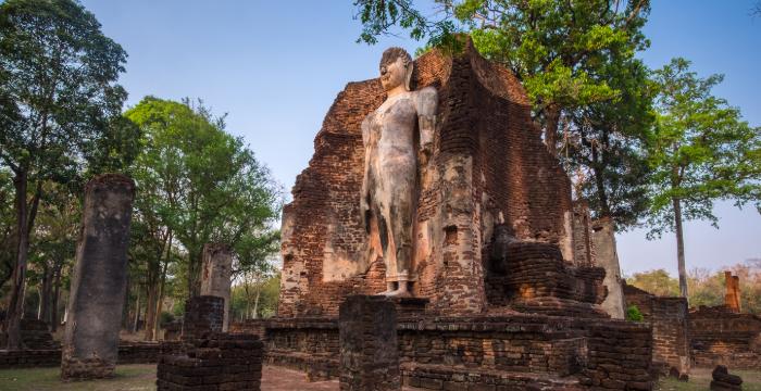 泰国5大名胜古迹,探索泰国的古老寺庙