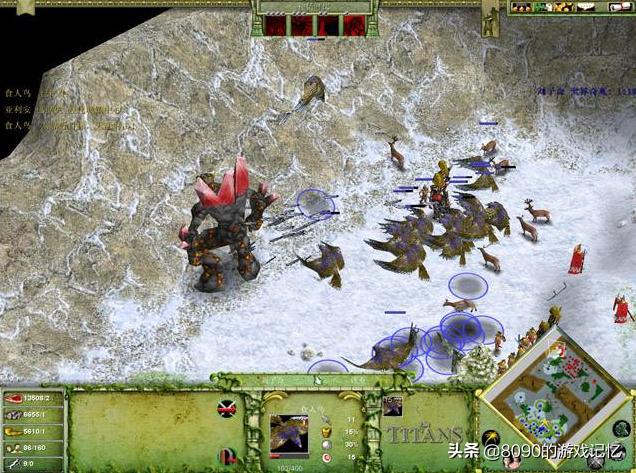 能召唤大神的即时战略游戏:《神话时代》