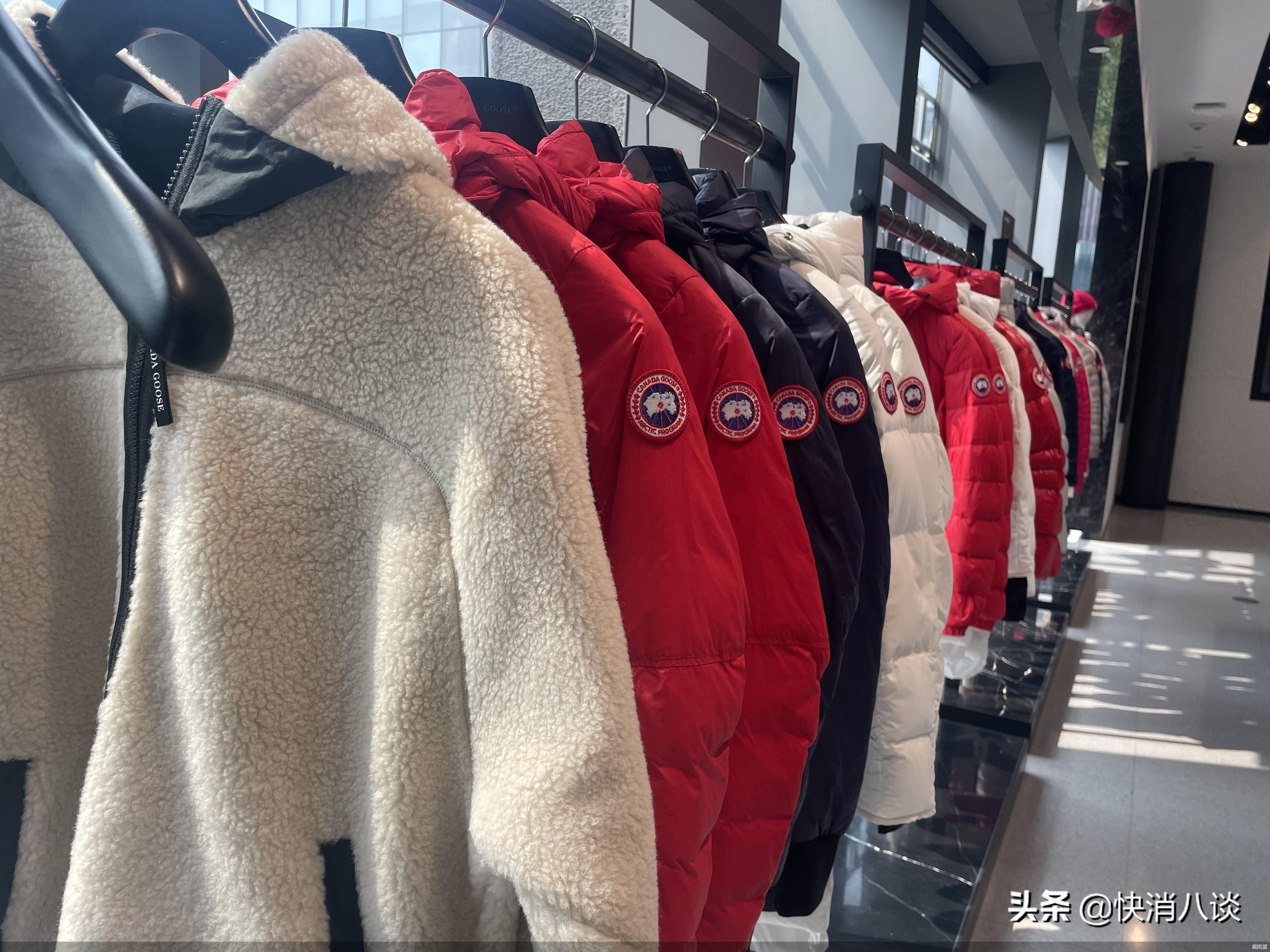 """一件羽绒服上万元!""""加拿大鹅""""里面装的全是鸭绒?网友:改叫""""加拿大鸭""""吧"""