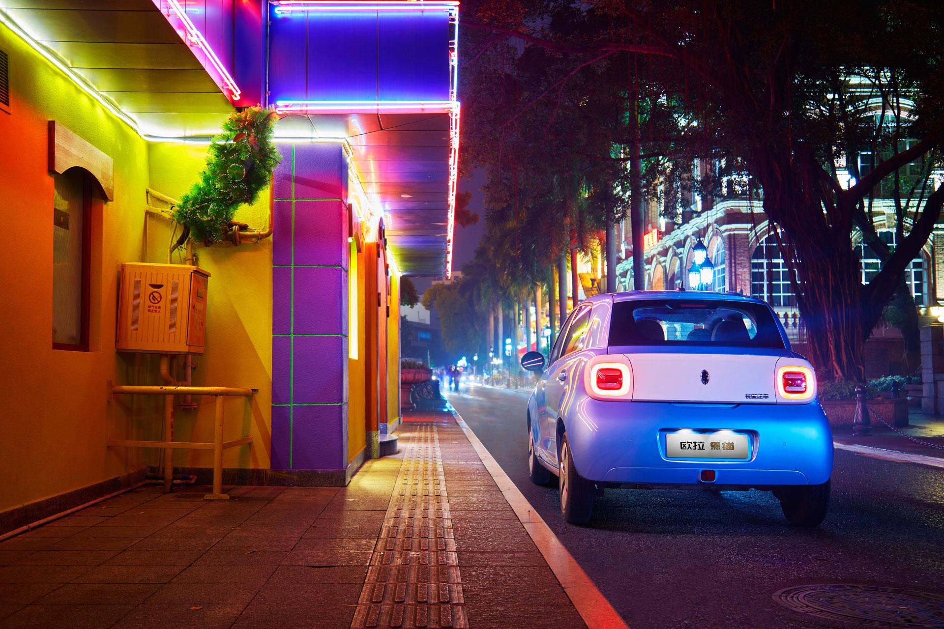 颜值在线,性能过硬,两款自主新能源微型车带你自由穿行都市