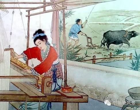 经典《牛郎织女》连环画6张,牛郎织女的神话故事