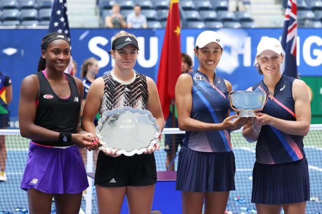 创历史!张帅美网女双夺冠创6纪录,赛后采访令国人动容