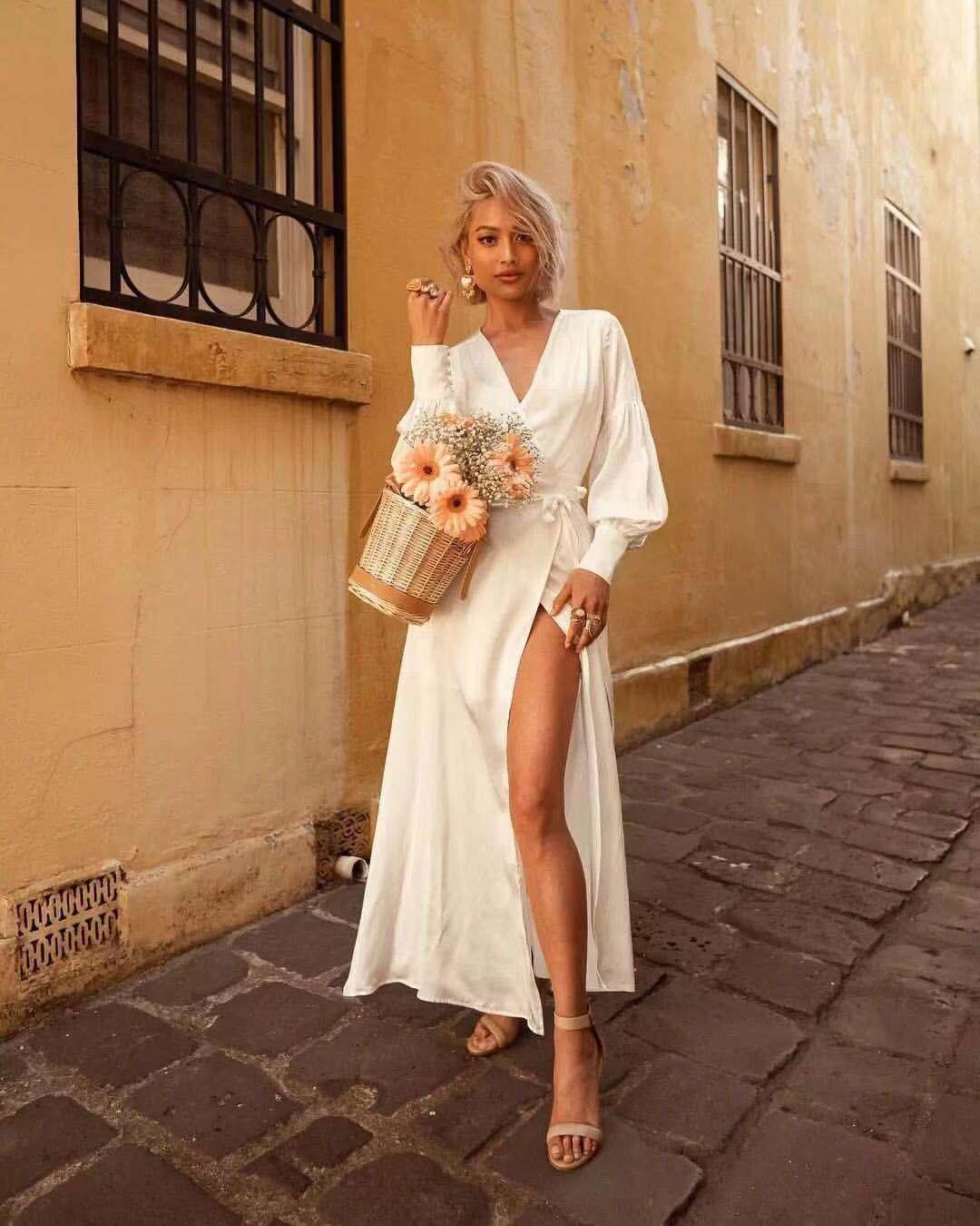 """都是法式连衣裙,怎么你穿就显""""村土""""呢?"""