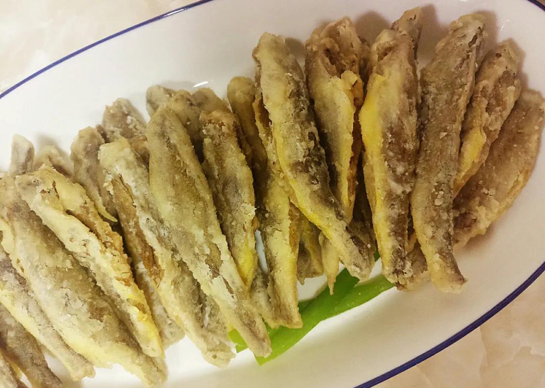 超简单的油炸小黄鱼 美食做法 第8张