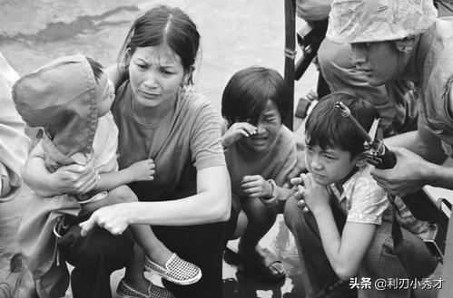越南战争结束后,美国兵留下很多混血儿,看美国如何对待这些孩子