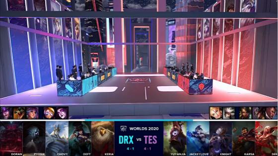 第10集:骑士键游戏TES击败DRX赢得第一名