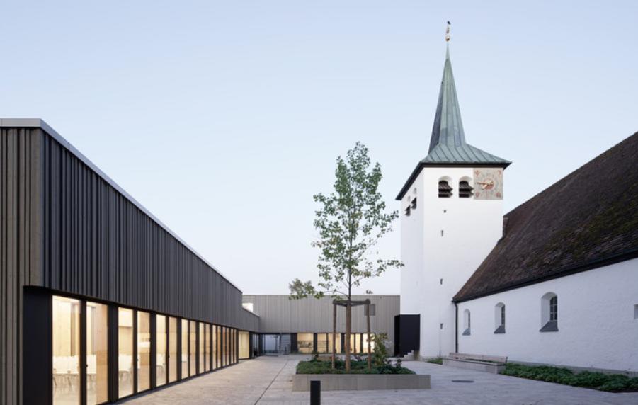 教堂铝单板幕墙