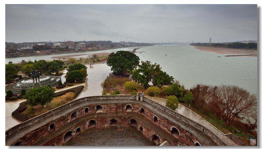 风水理念贯穿了整个赣州古城的规划 如此漂亮的古城让人赏心悦目