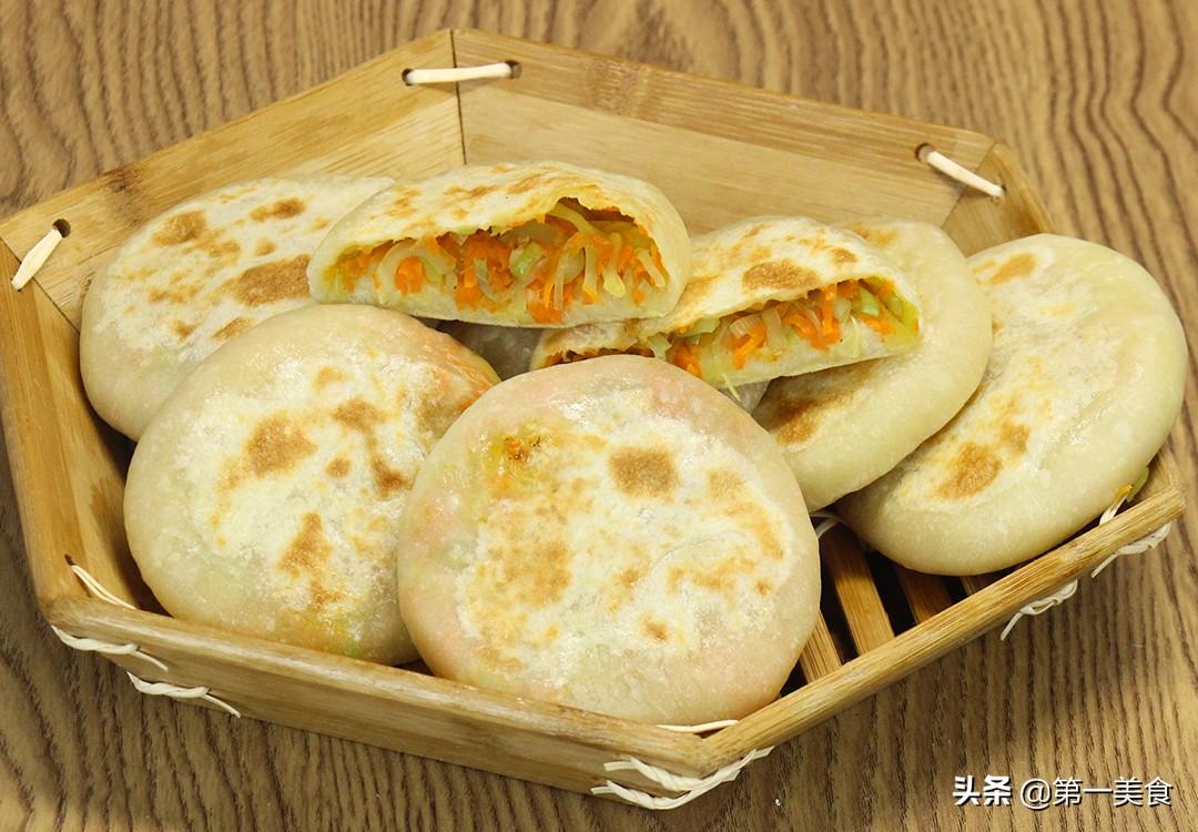 【薄皮小菜饼】做法步骤图 外酥里软 做一盘不够吃