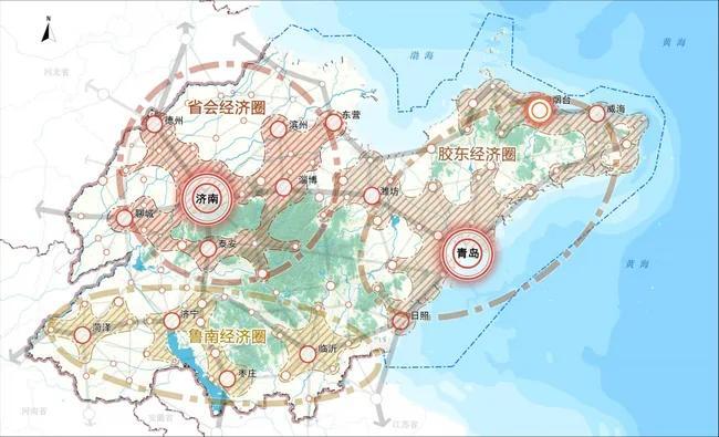 山东将建成2个特大城市、3大都市圈,14个大城市,预计2035年完成