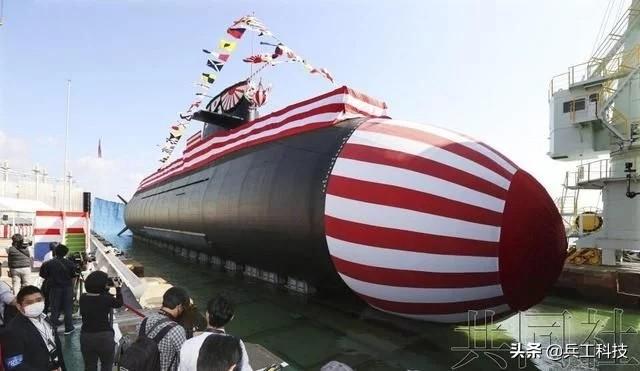"""日本最新潜艇""""大鲸"""",究竟比""""苍龙""""强在哪儿?"""