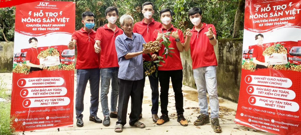 J&T越南开设农产品专线,协助农户渡过疫情