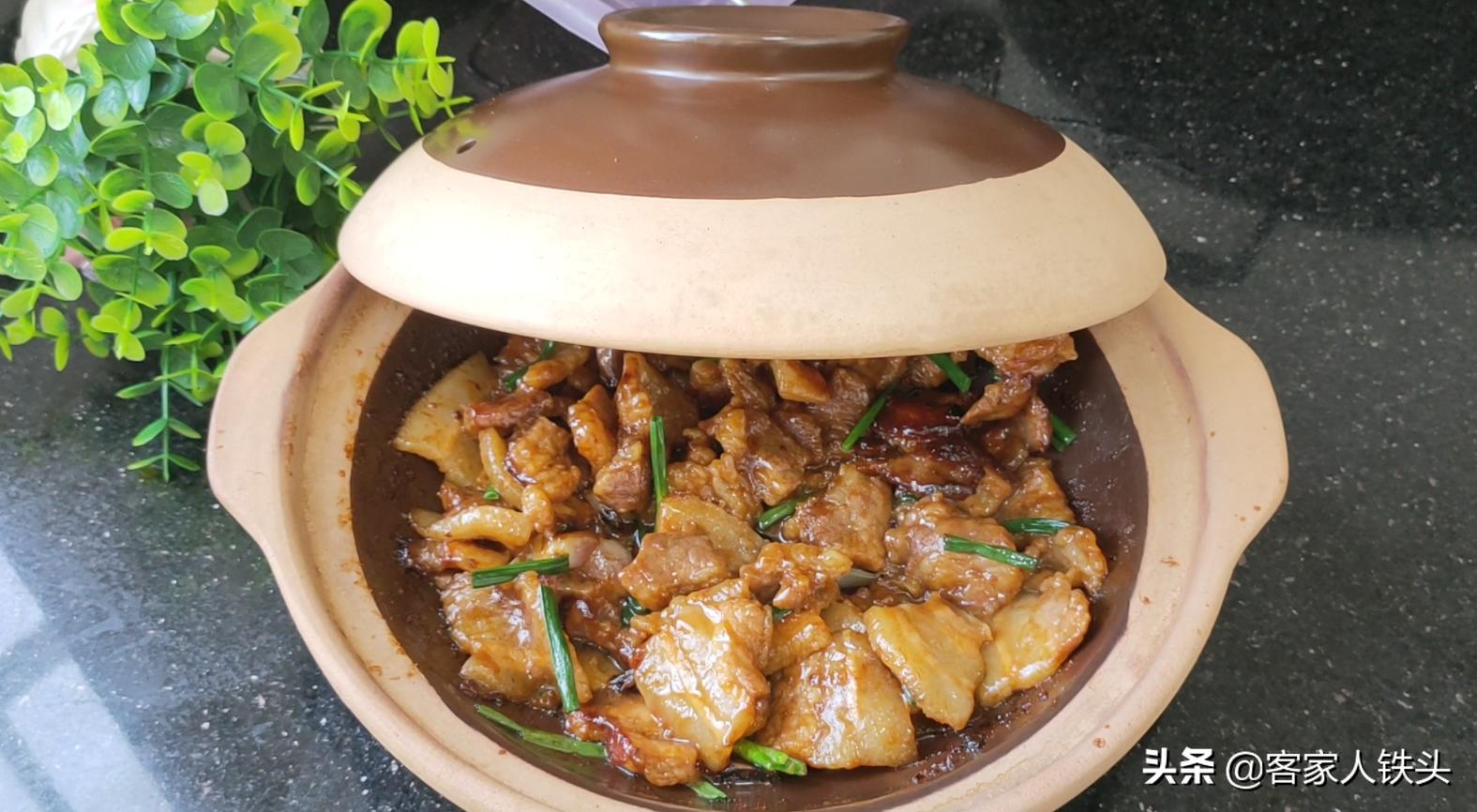 廣式生焗肉片真叫一個香,做法簡單,6分鐘出鍋,香嫩好吃又下飯