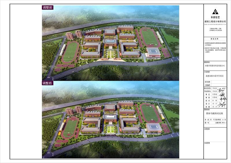 承德卉原中学项目规划调整方案