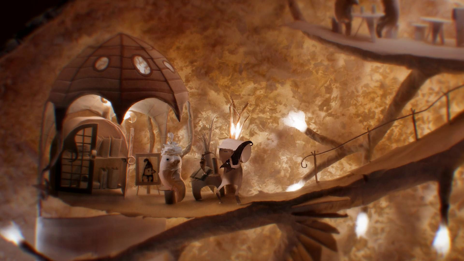 纸雕风格解谜冒险游戏 带你进入美轮美奂的纸艺世界