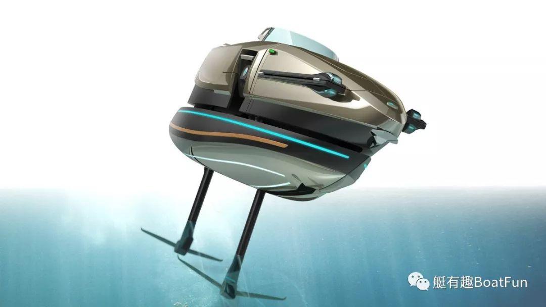 不可思议!游艇也可以像变形金刚一样变身?