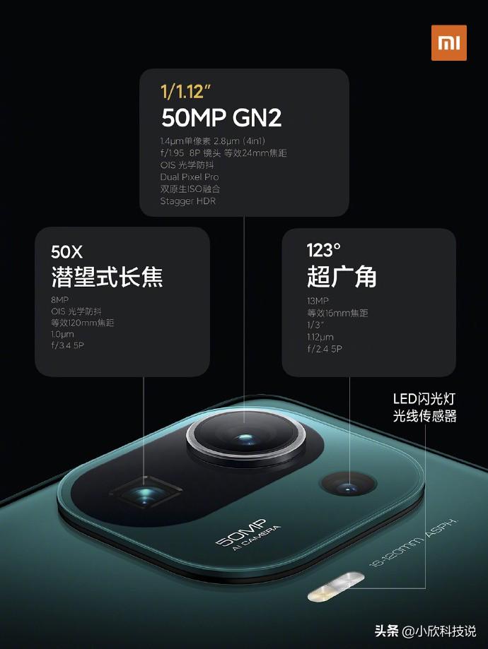 """小米11pro正式发布,售价4999元起,新一代""""安卓机皇"""""""