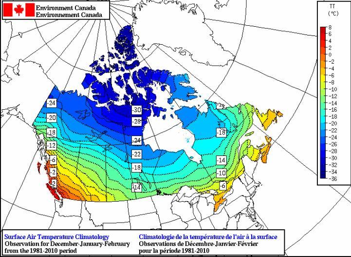 告诉你一个全面而真实的加拿大,系列之一,地理气候