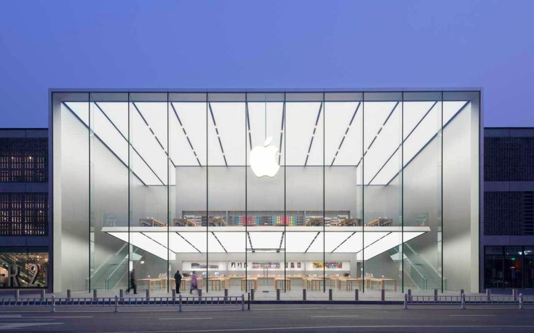 苹果首家水上门店,好看吗?
