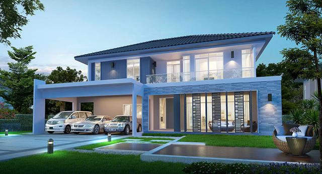 13套非常漂亮的两层别墅,不到30万全部拿下,设计太美了