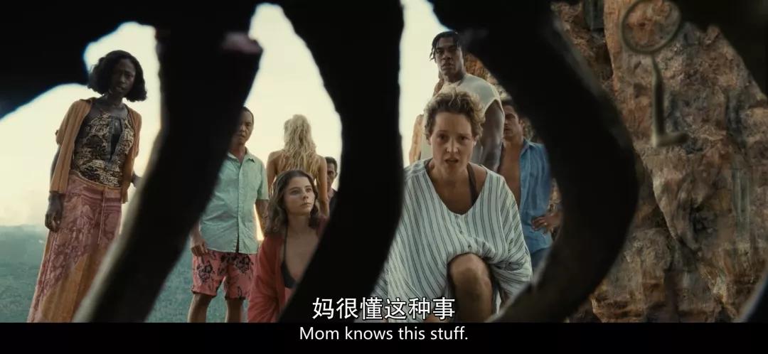 诡异恐怖电影《老去》,从怀孕到生产30分钟就够了
