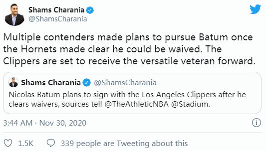 亿元先生有望加盟洛杉矶,火箭新员上限比肩波神,哈登还愿意走吗