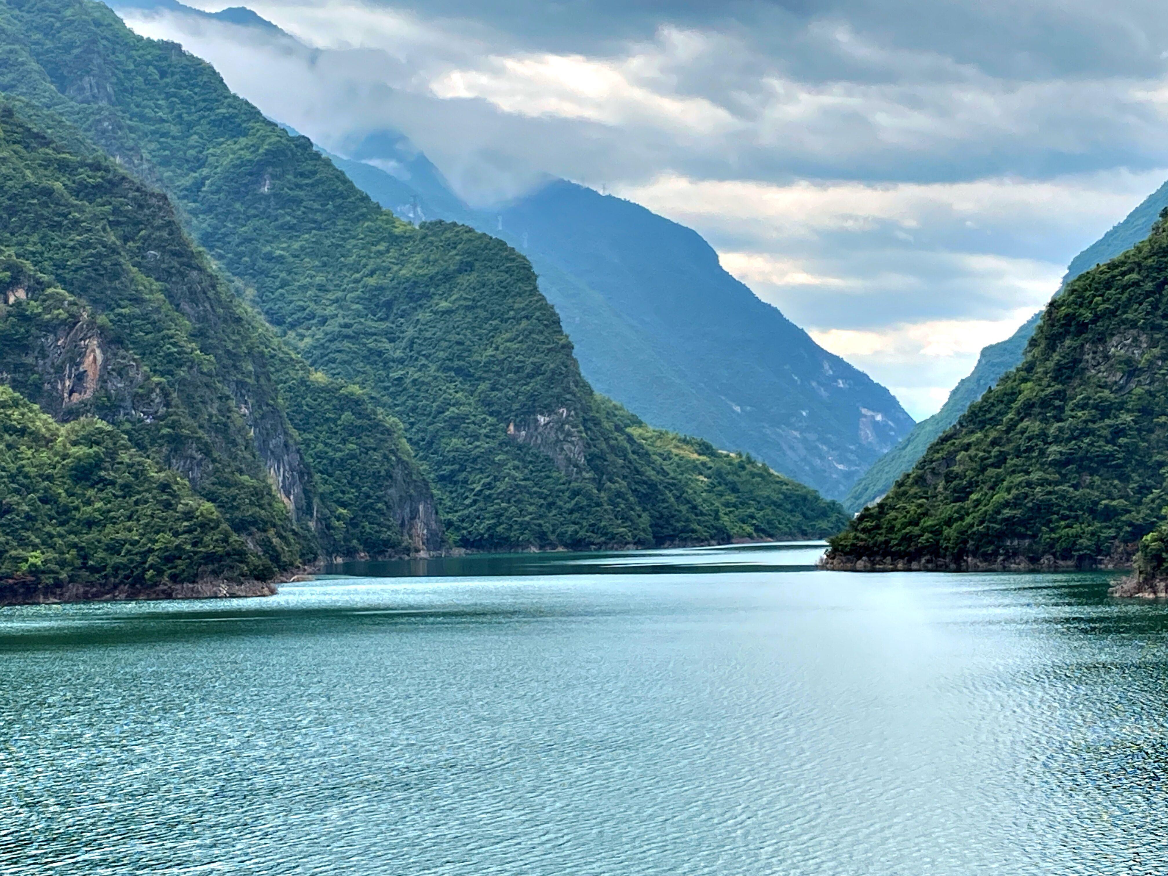 竹山武陵峡,这一程山水相见恨晚