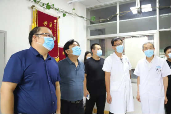 汝州市中医院全国基层名老中医药专家传承工作室迎接检查验收