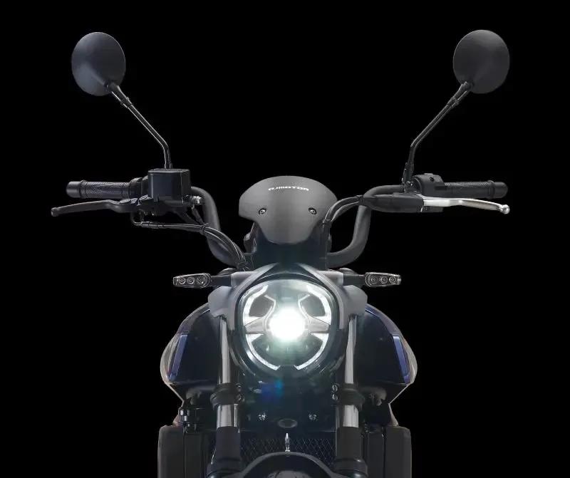 钱江运动巡航风的500cc双缸太子曝光,外观酷似川崎小火神