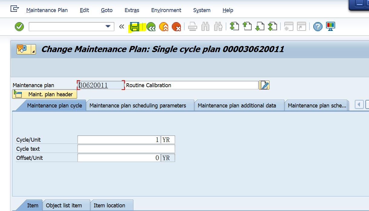 SAP PM入门系列18 - IP25为维护计划设置删除标记