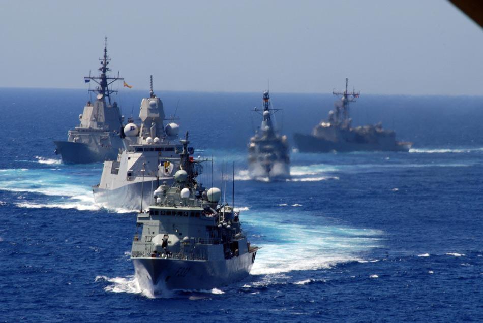 """德国军舰来南海,纯属""""被逼无奈"""":不和美日英法一起行动"""