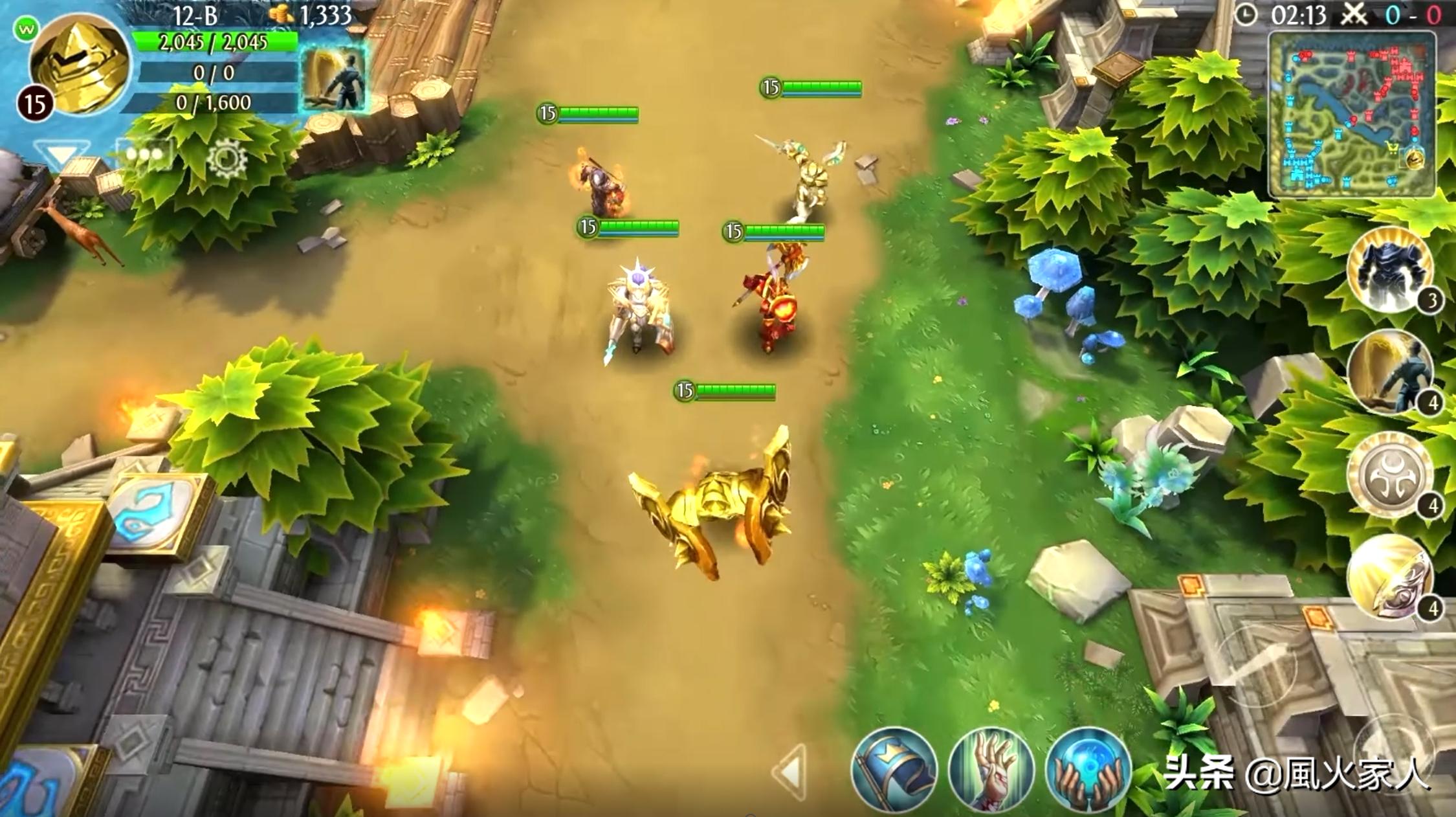 MOBA手游传奇-《混沌与秩序-英雄战歌》的游戏介绍
