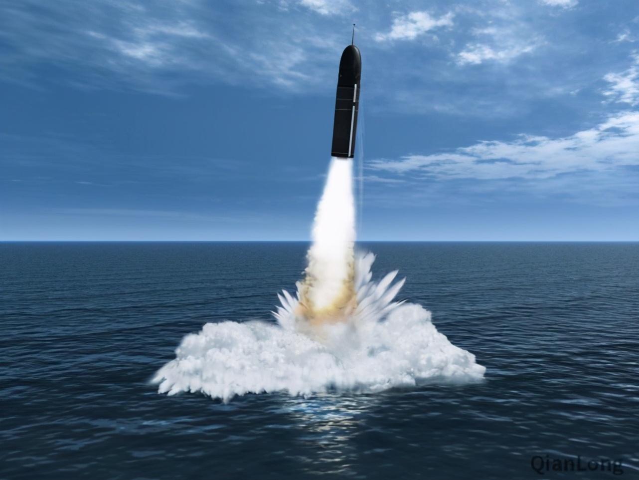 从海底潜艇发射一颗洲际导弹,被轰炸国知道是哪国发射的吗?