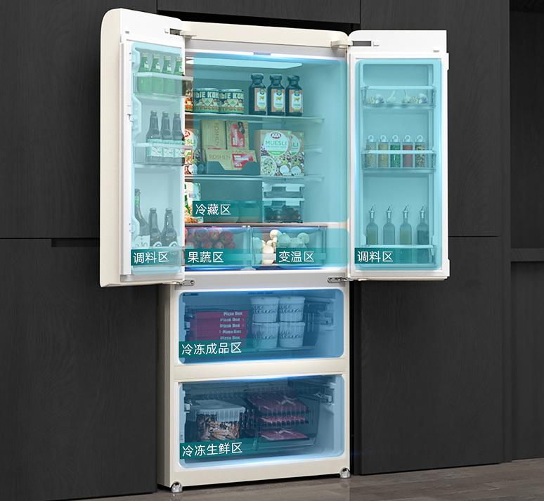 这个夏天的快乐,都是小吉复古直冷冰箱给的