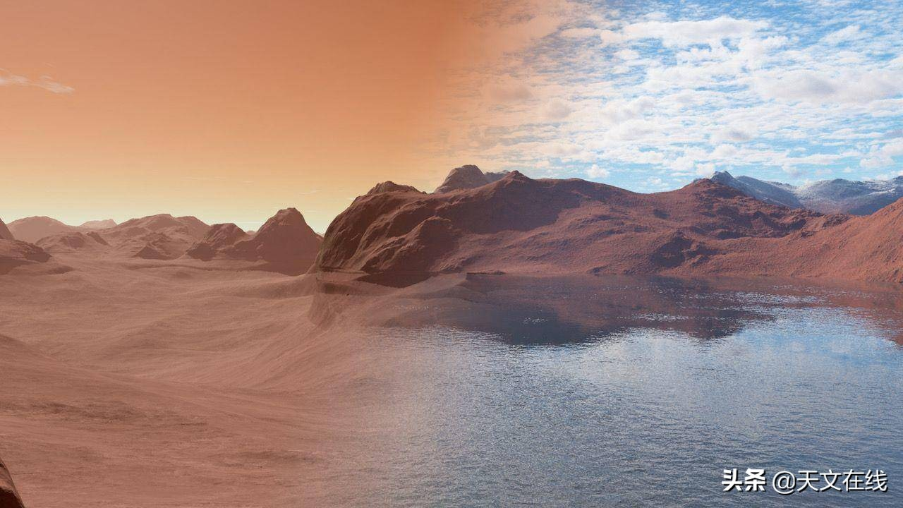 火星上的水是怎样消失的?新研究告诉你答案