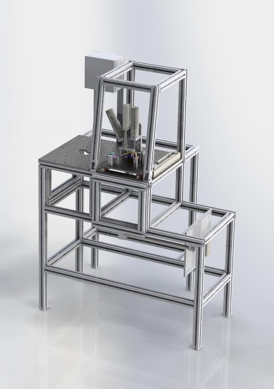 Pipe Testing管道试验机3D图纸 STEP格式
