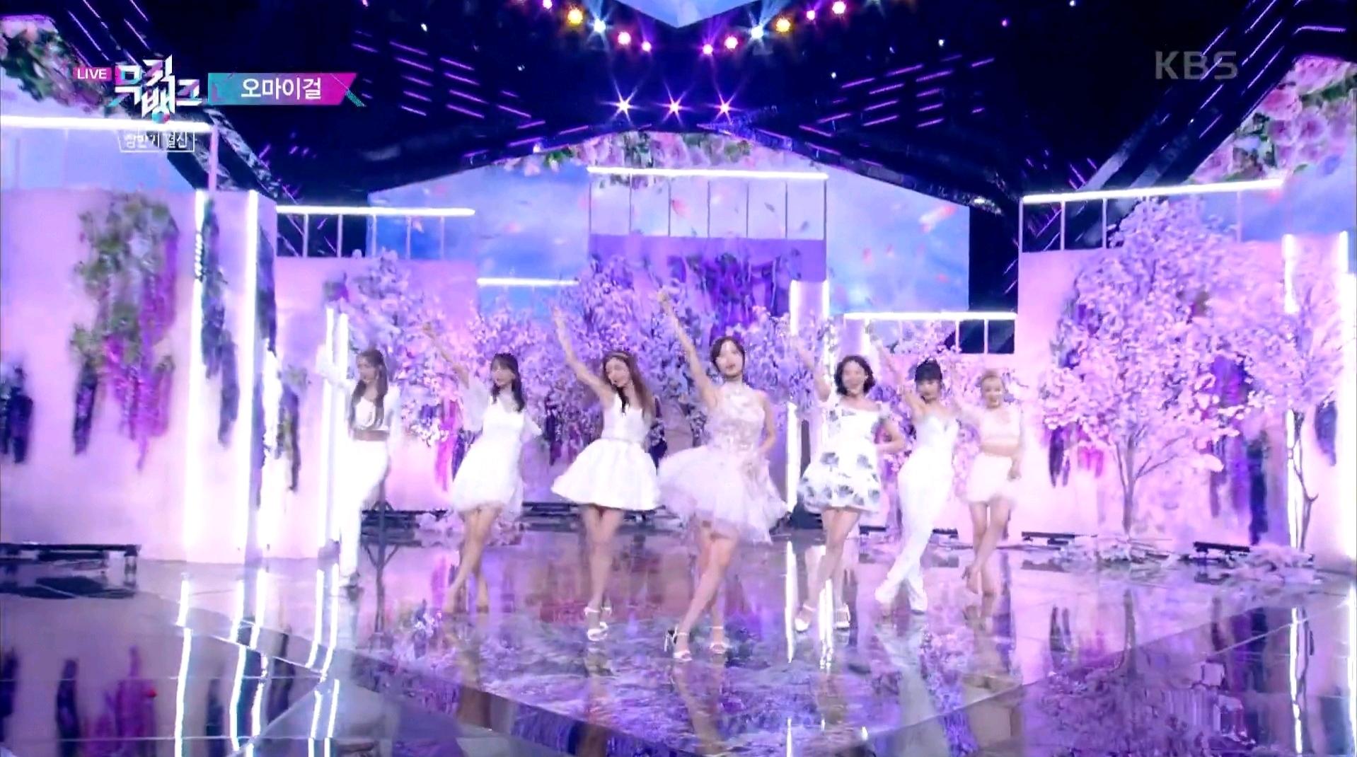 女团成员的差别待遇好伤心,OH MY GIRL翻跳IU舞台造型为什么会这样