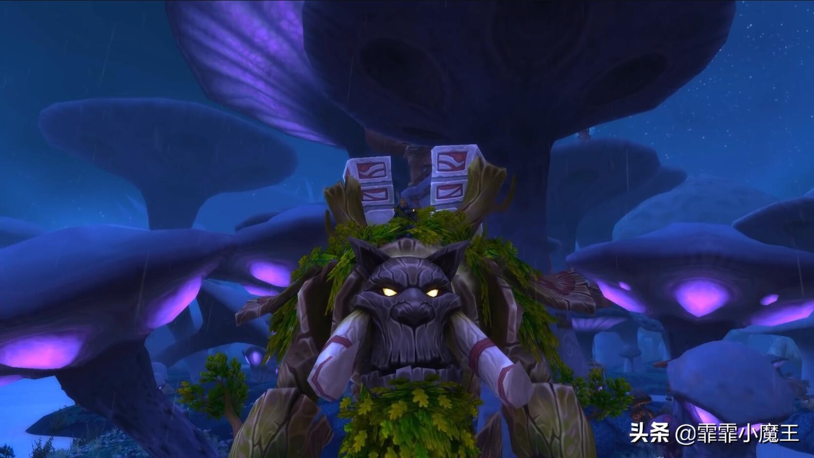 """魔兽世界9.0,暴雪送坐骑,玩家自己选,绿色""""幽灵虎""""待加入  第2张"""