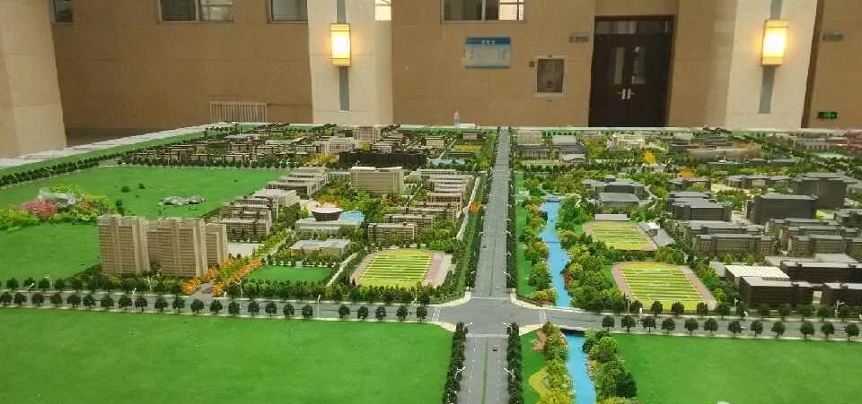 山西省高校新区沙盘模型