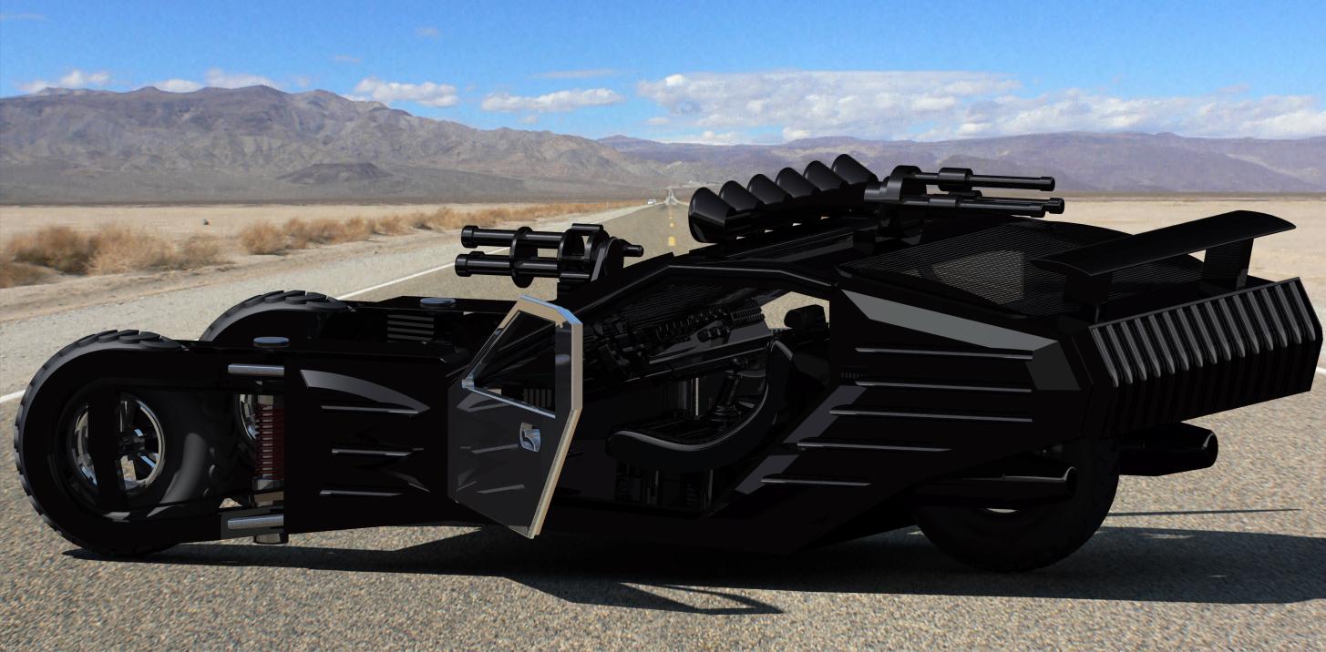 blade runner 2049跑车模型3D图纸 CATIA设计