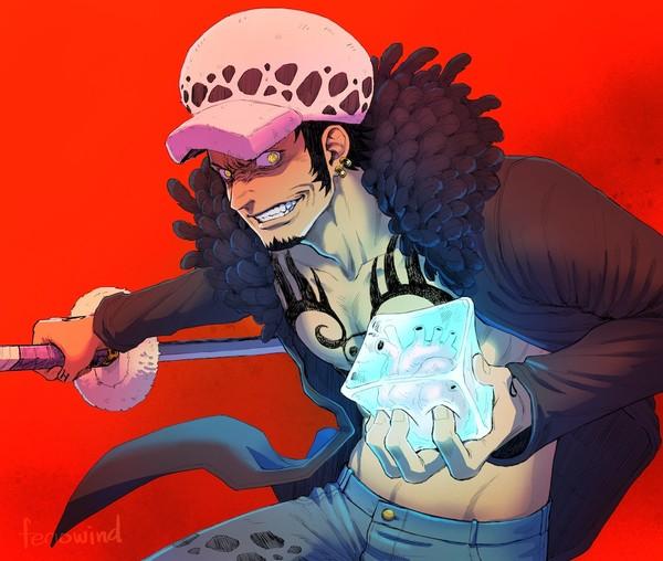 海賊王插畫分享,特拉仔被羅賓惡搞,貝波月獅化險失控